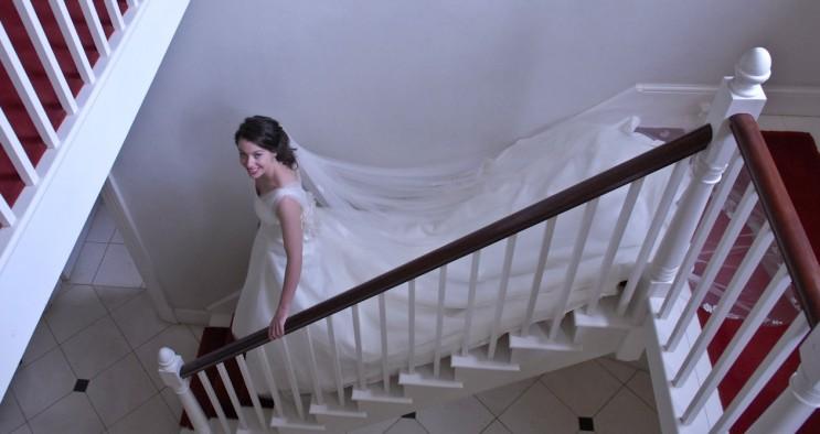 Philppa Lepley wedding dress 2