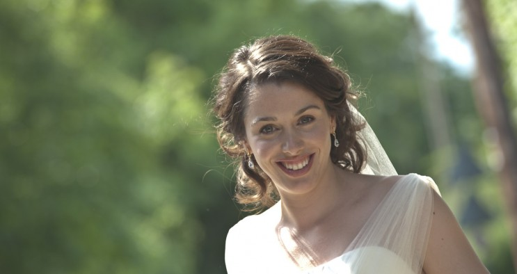 Wiltshire society wedding bride