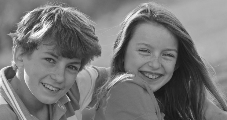 brother and sister portrait photography hampshire