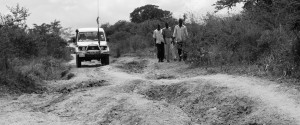 God is faithful, road survey, Kajo Keji, South Sudan