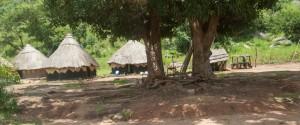 Roundel huts Kajo Keji, South Sudan