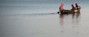 Fishing boat, Lake Victoria, Uganda